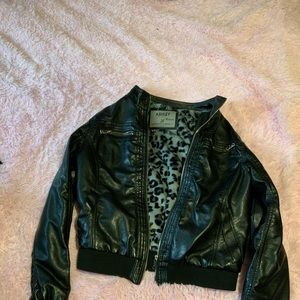 Ashley Punk Faux Leather Jacket
